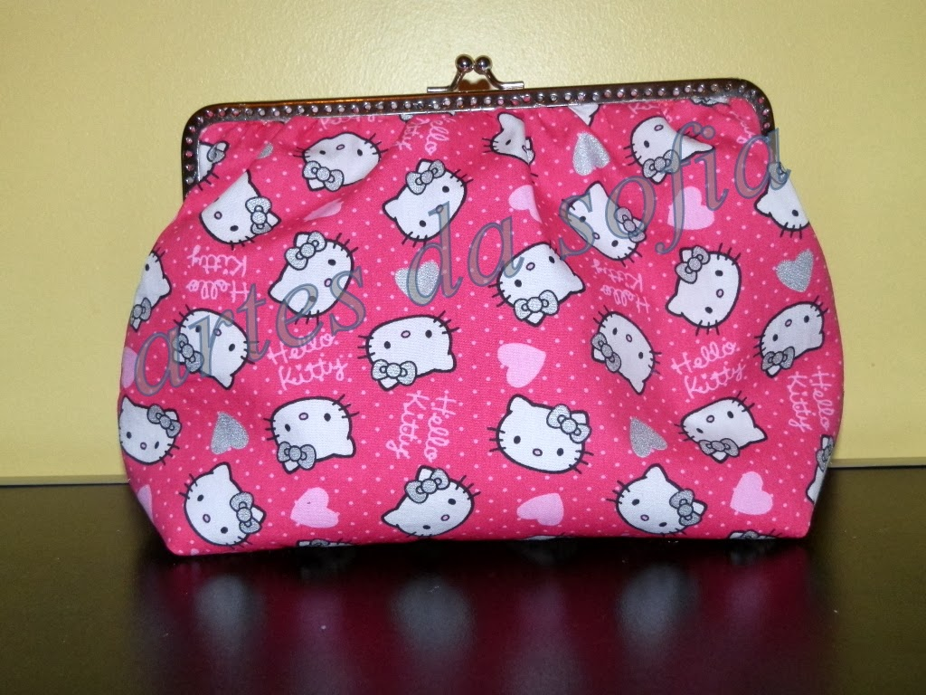 Bolsa De Tecido Com Fecho : Decoupagecolorido carteiras em tecido com fecho metal