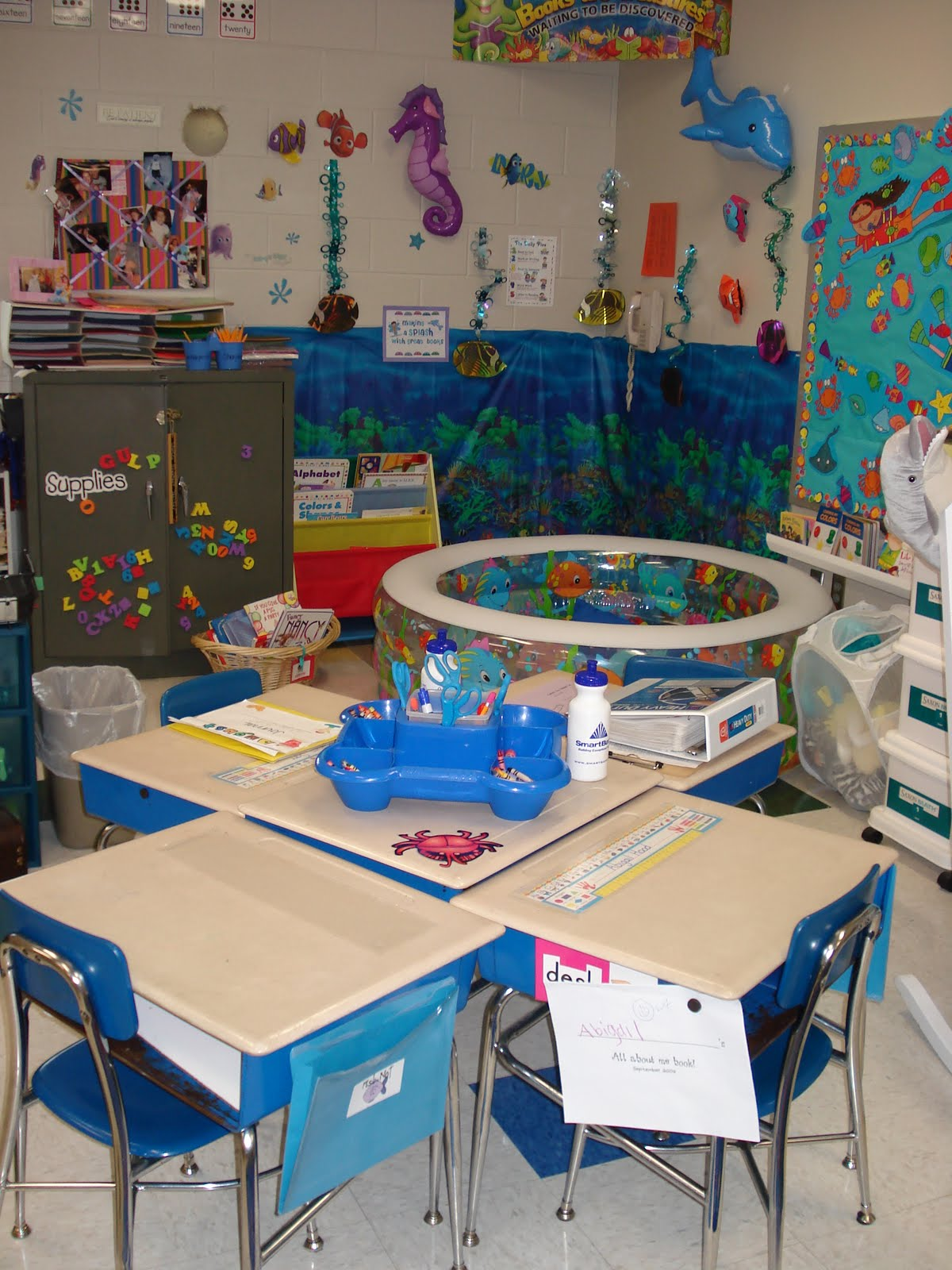 Classroom Decorating Ideas Ocean Theme ~ Pixie chicks classroom themes ocean