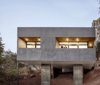 Desain Rumah Minimalis Modern Atap Garasi gambar 4