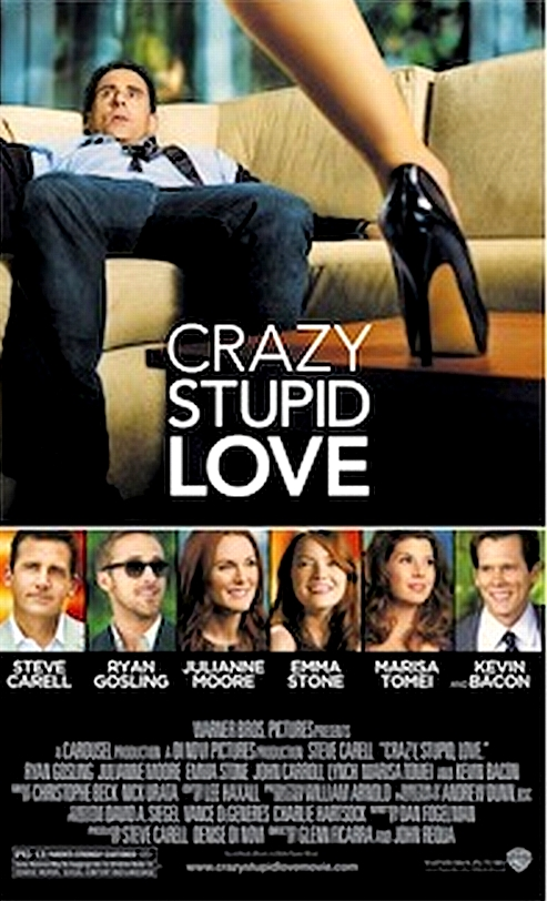 """The Voice Of Silence: Review of film: """"CRAZY STUPID LOVE"""""""