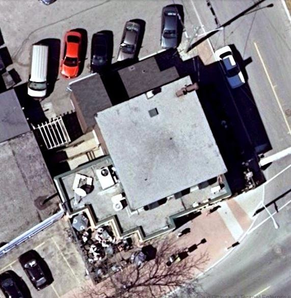 Aerial photo (from 2007) showing the new Whispers additions in 1992.