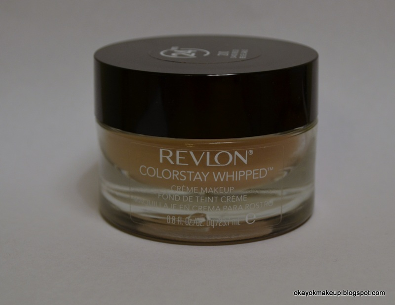 okay ok makeup revlon colorstay whipped creme makeup in sand beige review. Black Bedroom Furniture Sets. Home Design Ideas
