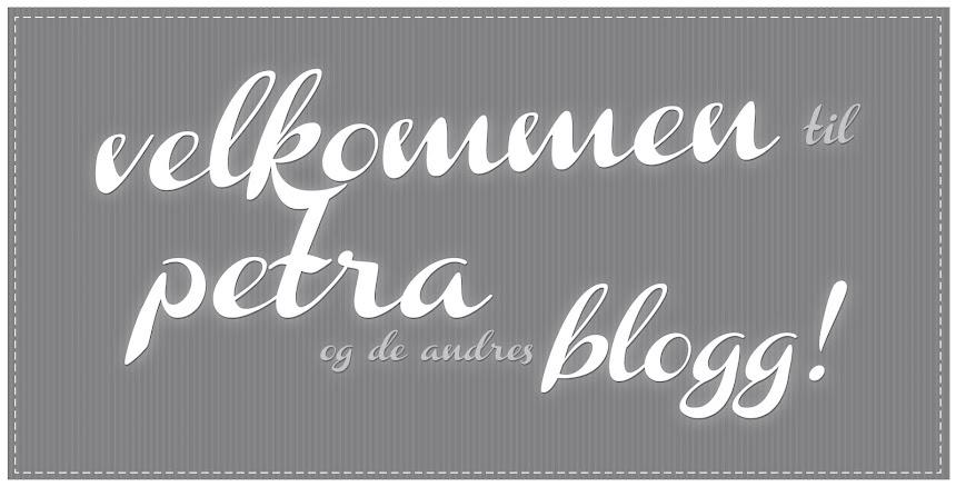 Petra og de andres blogg