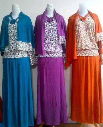 Baju Lebaran Murah Serba Gamis Grosir Baju Muslim Murah