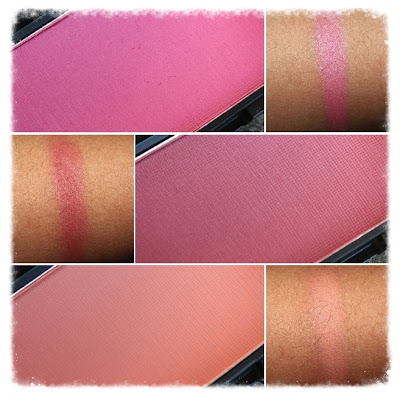 Sleek Makeup Blush in Flamingo, Flushed & Life's A Peach