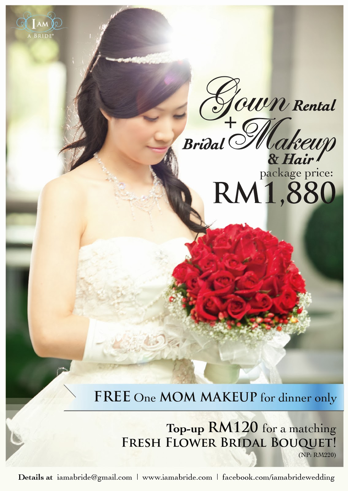 PROMOTION Gown Rental And Bridal Makeup Hair 2013 2014