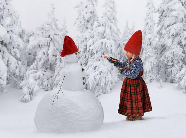 Winter Magic Spellbinding Photographs By Per Breiehagen