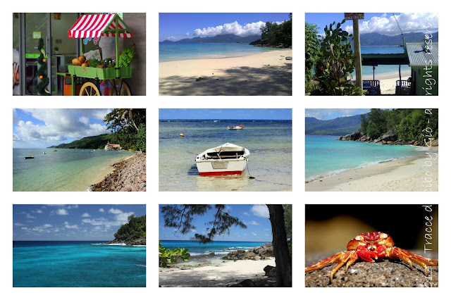 seychelles, tracce on the road