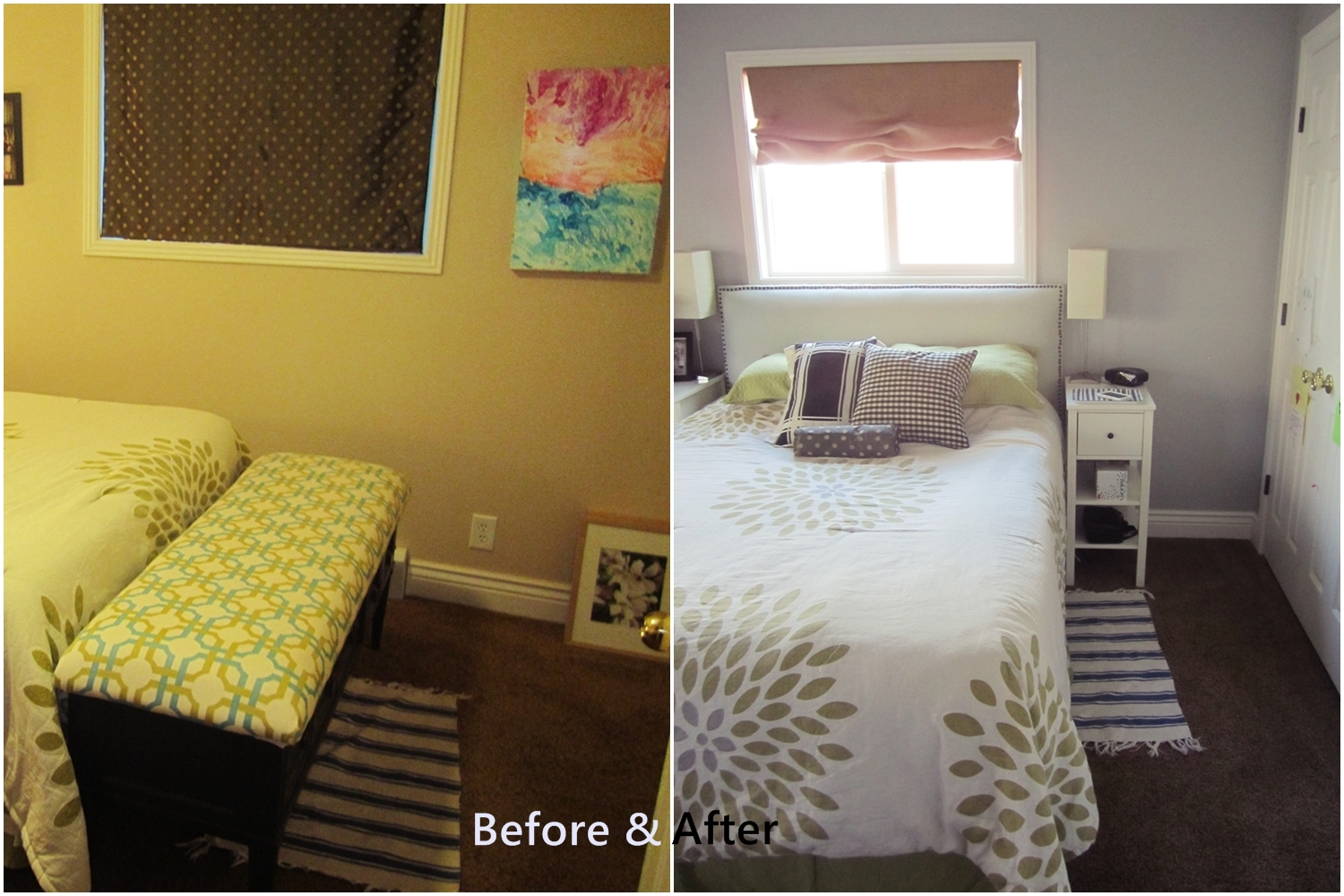 Bedroom Furniture Orange County smartgirlstyle: master bedroom makeover: furniture arrangement