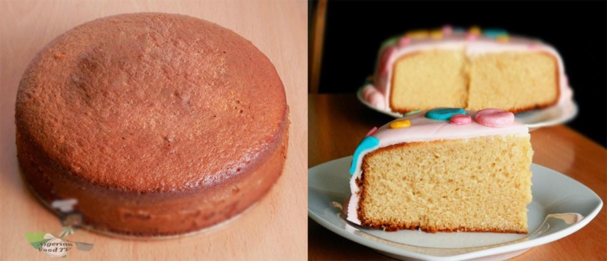 Nigerian Cake Recipe Original