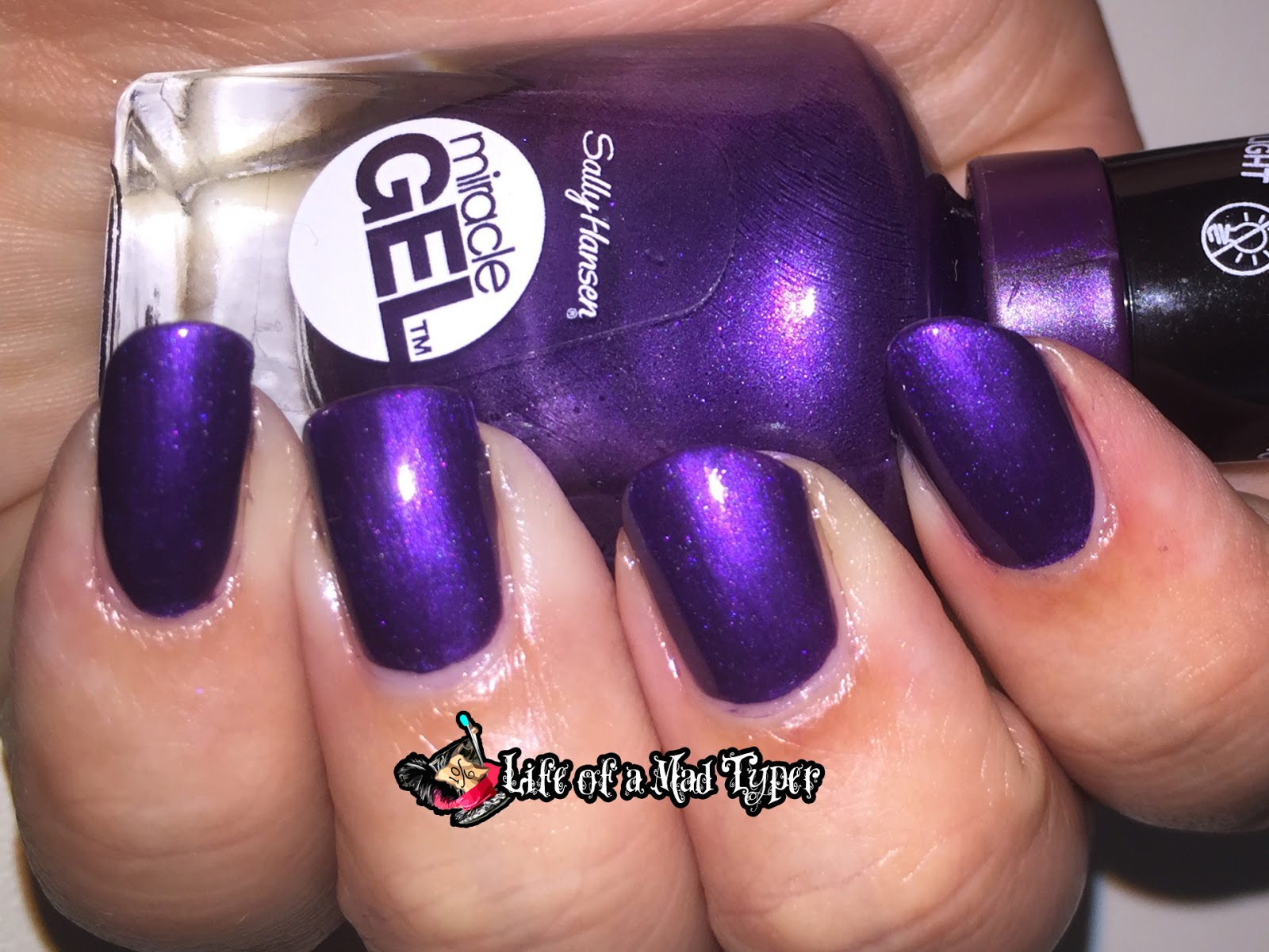 Sally Hansen Miracle Gel Purplexed
