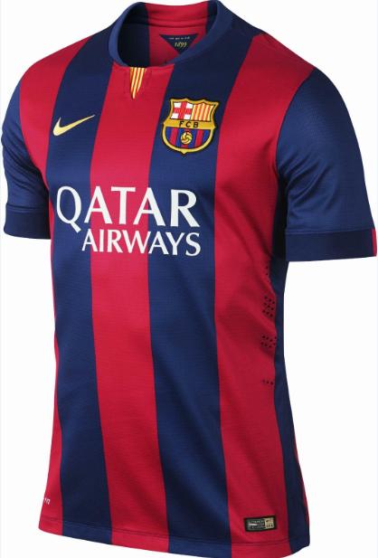 Jersey GO FC Barcelona 14-15 (2014-15) Home