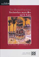 Lao book review - Recherches Nouvelles sur le Laos / New Research on Laos edited by Yves Goudineau and Michel Lorrillard