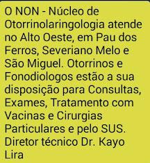 ATENDIMENTO EM NOSSA REGIÃO