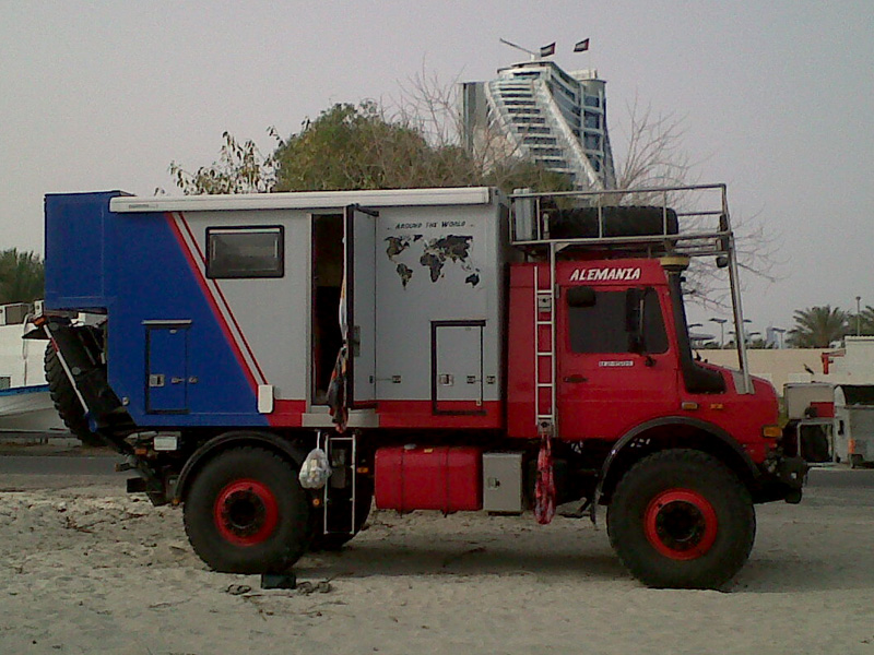 Unimog Camper on Pinterest | Campers, Motorhome Interior ...