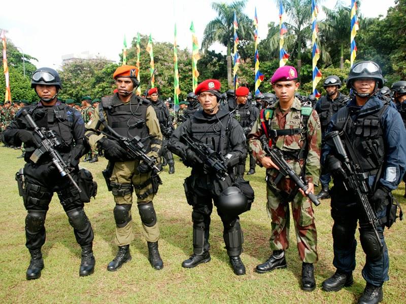 anggota polisi TNI polri