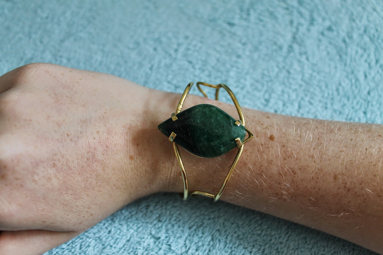 19th Birthday Haul Emerald Cuff