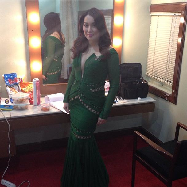 Kris Aquino Revealing Gown at MMFF Awards Night Photo; The Most ...