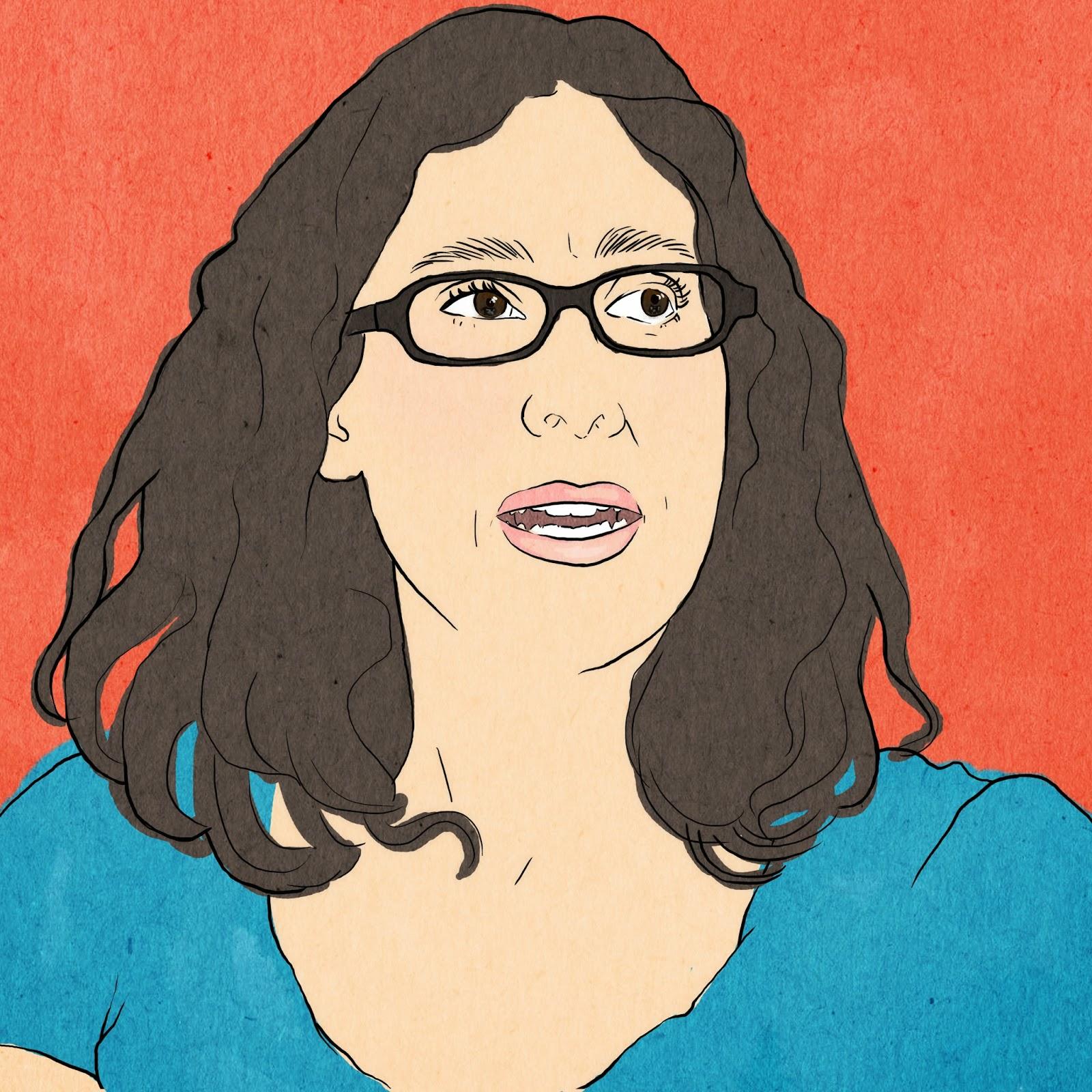 sarah-koenig-serial, serial-podcast, sarah-koenig-face, sarah-koenig-portrait, sarah-koenig-npr