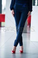 Pantaloni LaDonna Bow Waist DarkBlue (LaDonna)