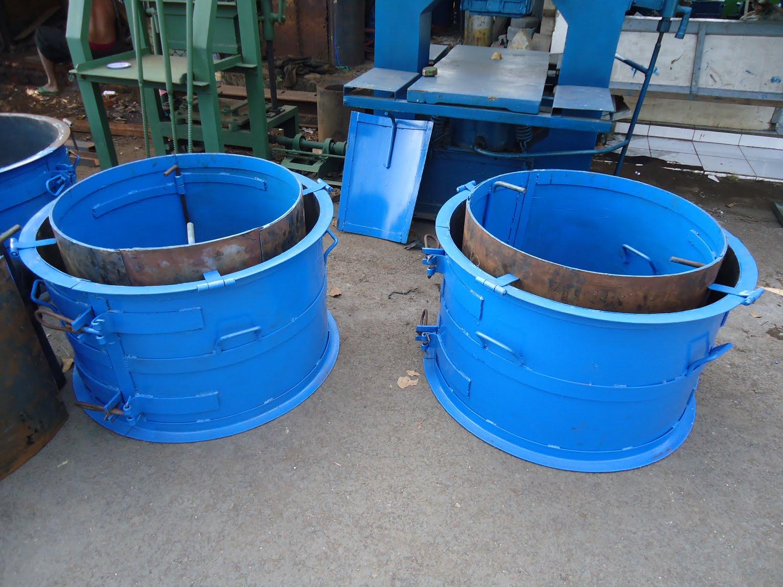BENGKEL PUTRA MANDIRI: Cetakan Gorong-gorong\/Buis beton
