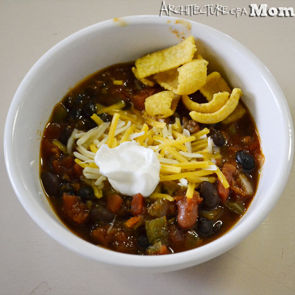 Crockpot Chili with Cocoa