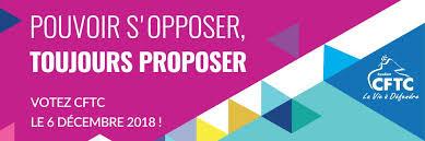 ELECTIONS PROFESSIONNELLES / du 30 novembre au 6 décembre 2018