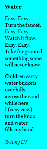 The Poem Farm: Water - Writing about Contrasts