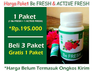 Sekilas Be FRESH & ACTIVE FRESH