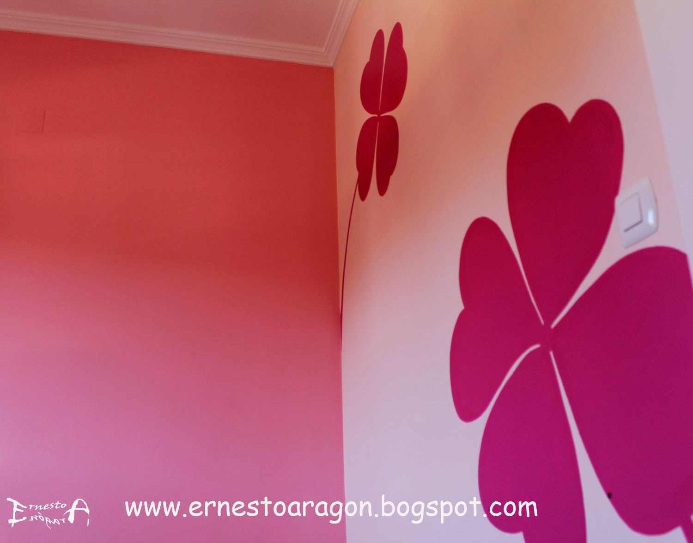Ernesto arag n pintura para el hogar tr boles de la - Tecnicas para pintar una habitacion ...