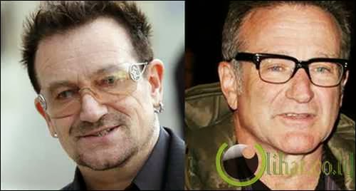 Bono 'U2' - Robin Williams