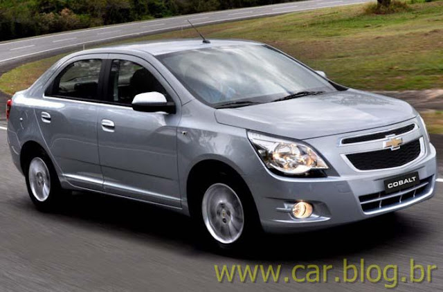 Novo Chevrolet Agile Sedan 2012
