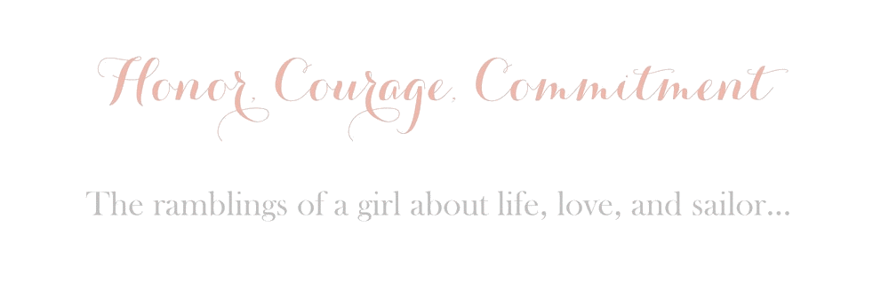 Honor, Courage, Commitment.