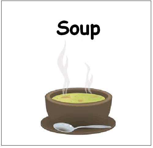 Teaching esl materials and more food flash cards - Cuisine flash but ...