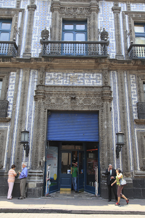 Escape from new york mexico city s house of tiles for Sanborns orizaba