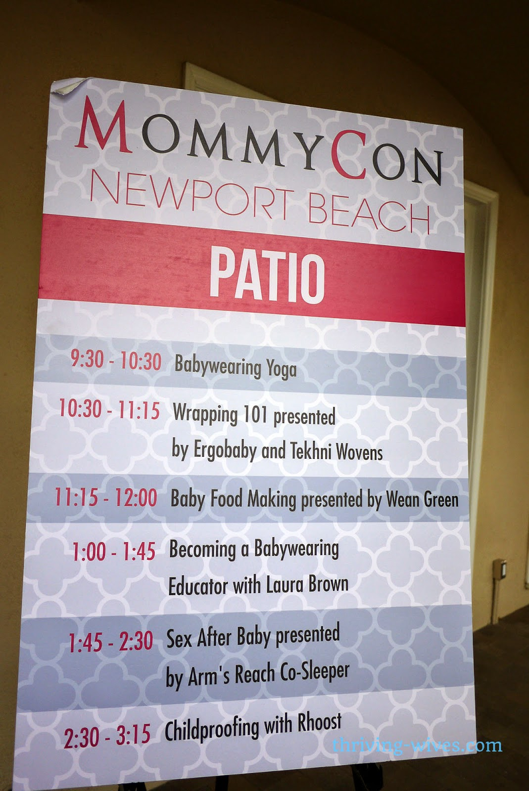 MommyCon Newport Beach 2014 and Kiinde giveaway