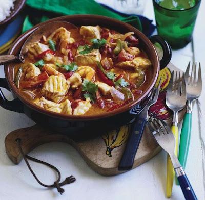 Moqueca or brazilian fish stew recipe - All in one recipes