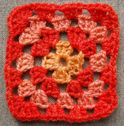 Granny Squares Crochet Jacket - Christmas Crafts, Free