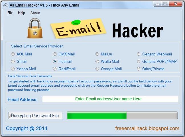 Программа Для Взлома Почты Mail Hacker (Взломать E-Mail)