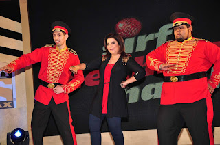 Farah Khan at Sony MAX IPL-2013 press conference