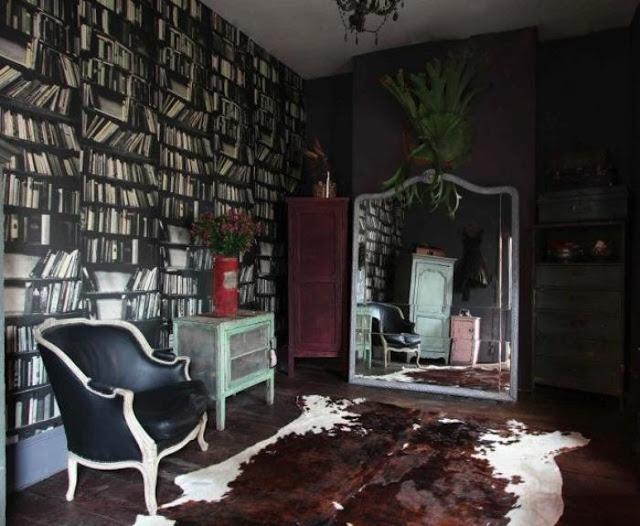 Rough Luxe Design Alice In Wonderland Style Via Remodelista