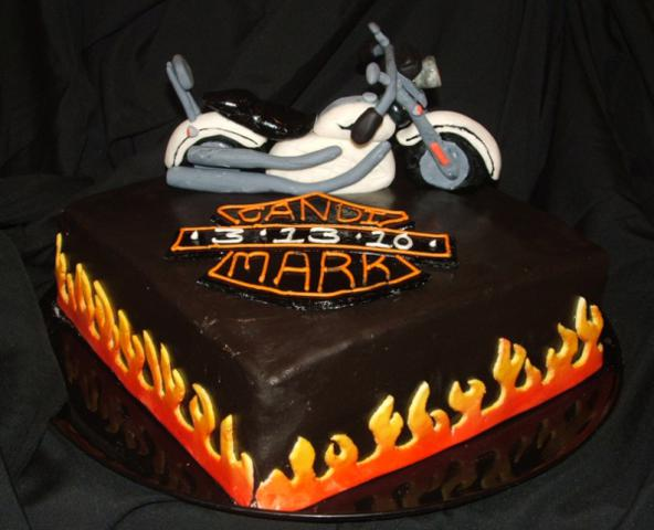 Pin Harley Davidson Wedding Cakes Unique Cake on Pinterest