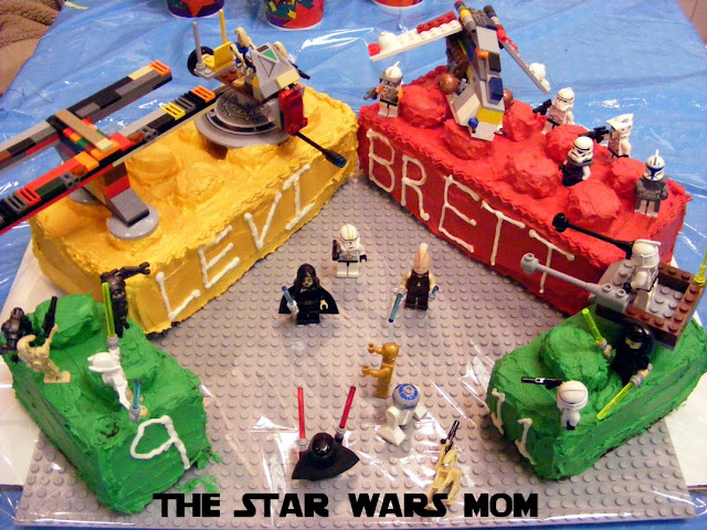 DIY Lego Star Wars Cake