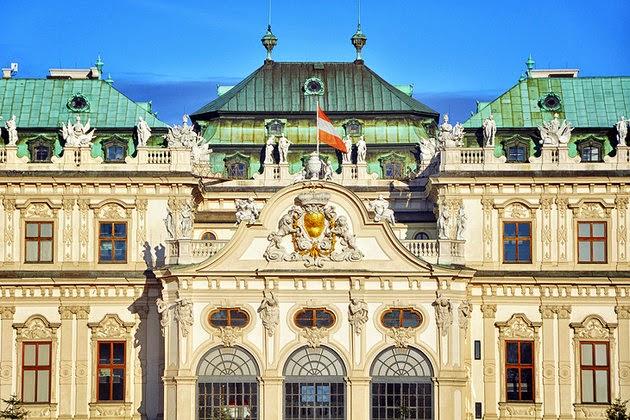 رحلة الي قصر بيلفيدير في فيينا