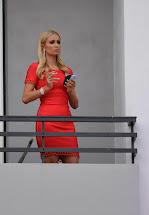 Paris Hilton - Hotel In Cannes Fab Celebs