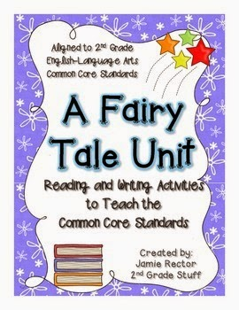 https://www.teacherspayteachers.com/Product/Fairy-Tale-Unit-to-Teach-the-Common-Core-Standards-25-Activities-224301