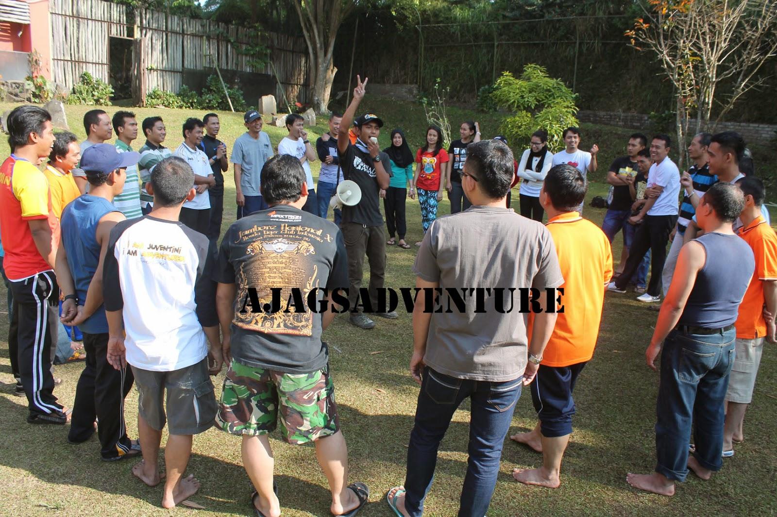 Outbound di Vila Istana Bunga Lembang