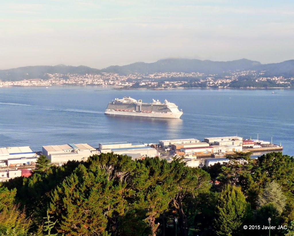 Observador de buques shipspotter en vigo buque crucero - Puerto de vigo cruceros ...