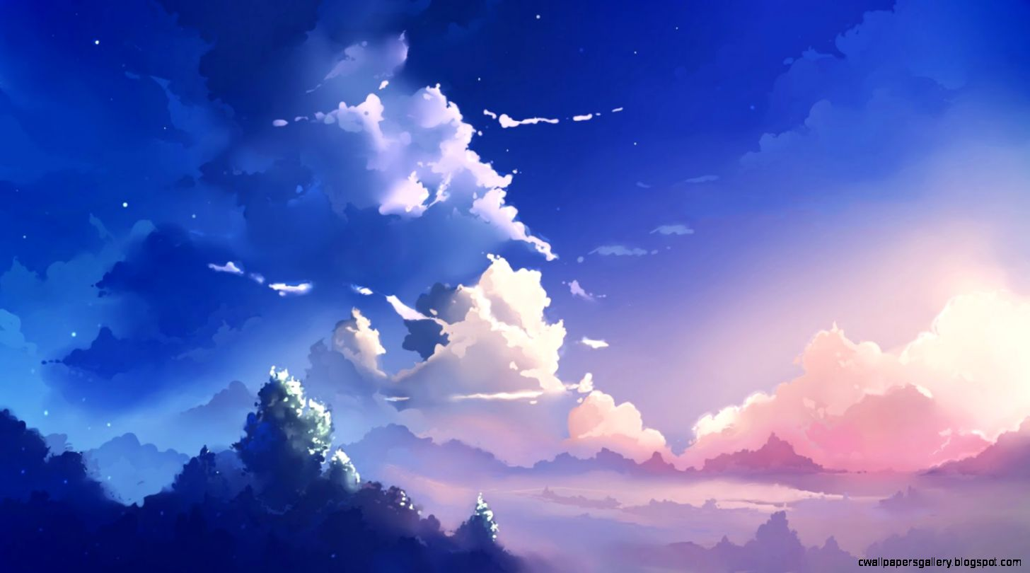 Anime Scenery Wallpaper   WallpaperSafari