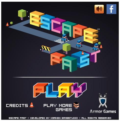 Armor Game : Escape Fast